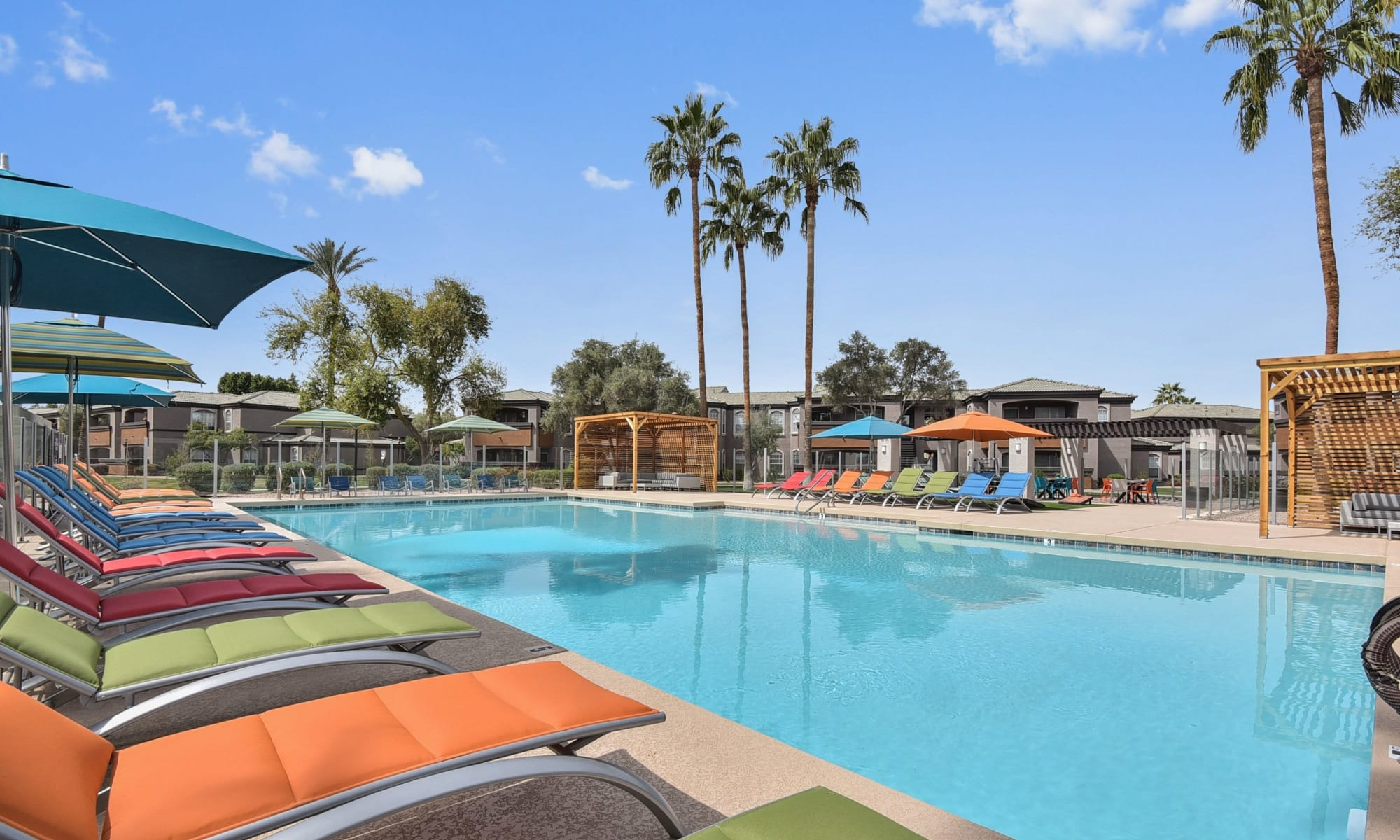 Apartments for rent at Luxe @ Ocotillo in Chandler, Arizona