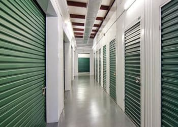 Climate-controlled storage units at Metro Self Storage in Westhampton Beach, New York