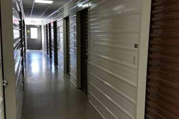Climate controlled storage units at Mini Storage Depot in Knoxville, Tennessee