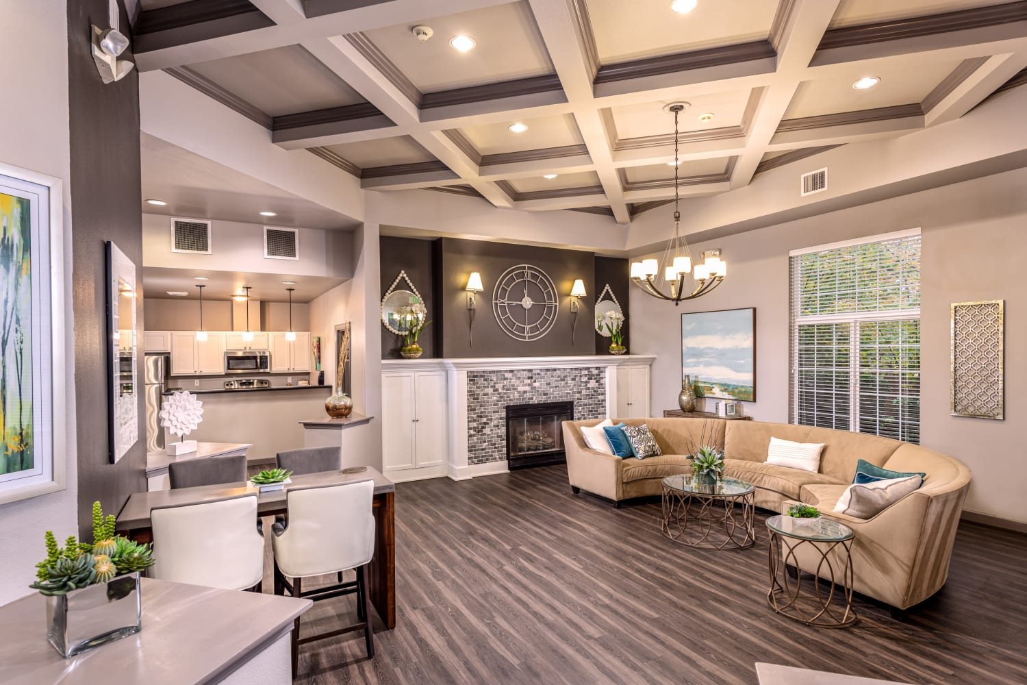 Clubhouse at Apartments in Sammamish, Washington