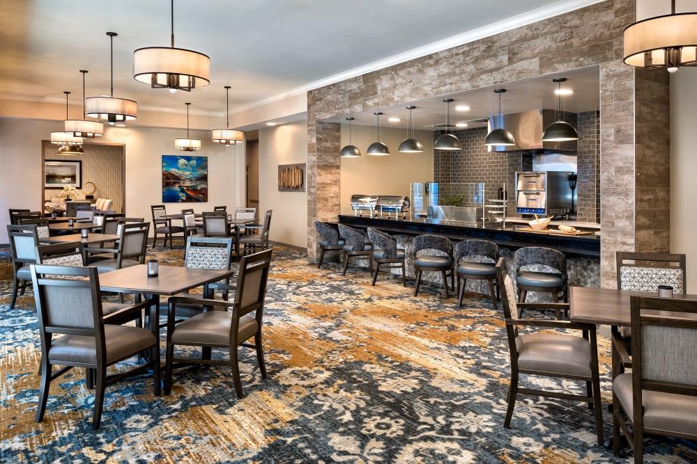 Savor restaurant at Clearwater at Rancharrah in Reno, Nevada