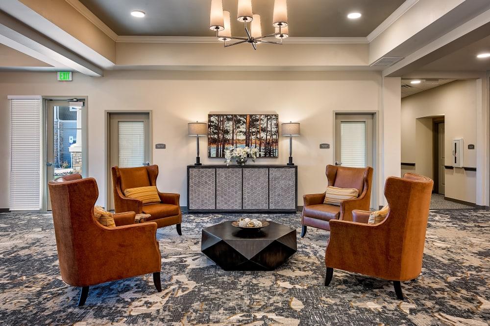 Lobby at Clearwater at Rancharrah in Reno, Nevada