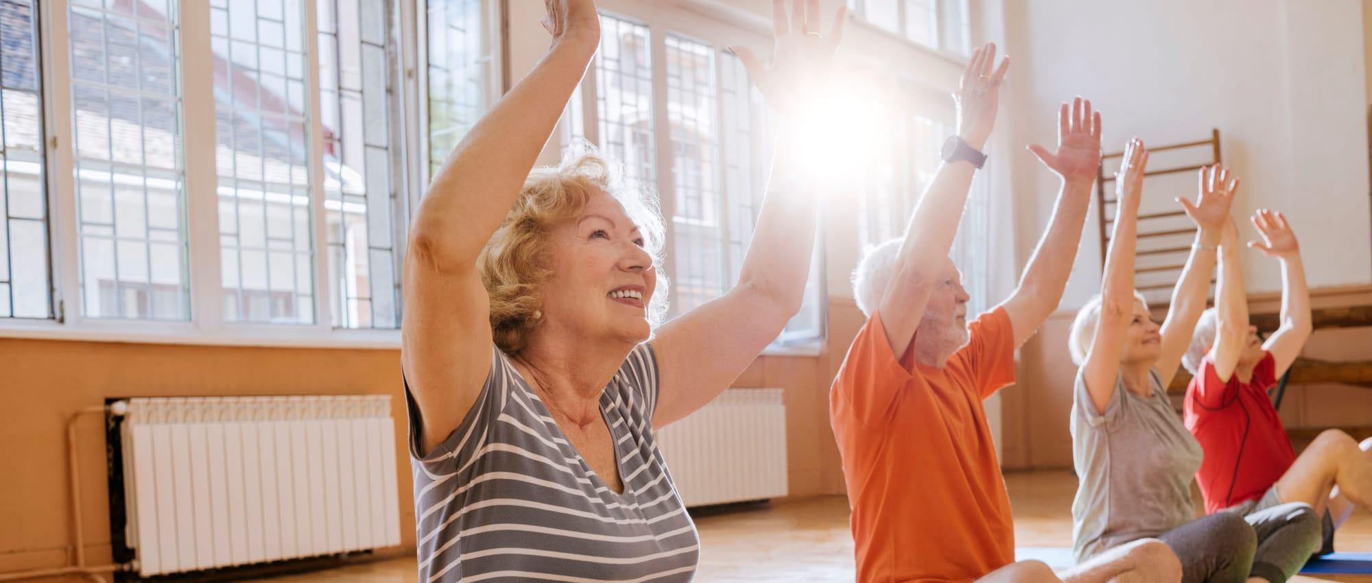 Our programs at Milestone Senior Living in Cross Plains, Wisconsin.