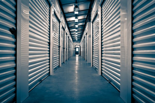 A secure storage facility at Towne Storage in Las Vegas, Nevada
