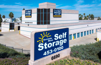 Front of office for Poway Road Mini Storage