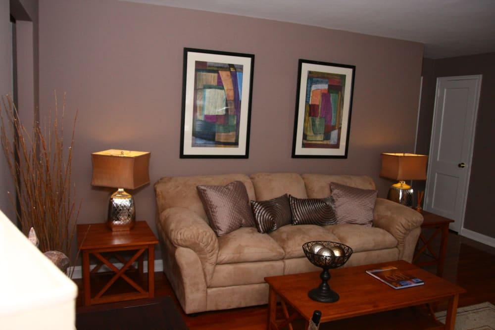 Beautiful living room at Lalor Gardens