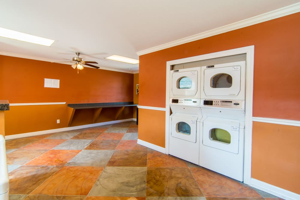 Onsite laundry room at Meadowbrook Apartments