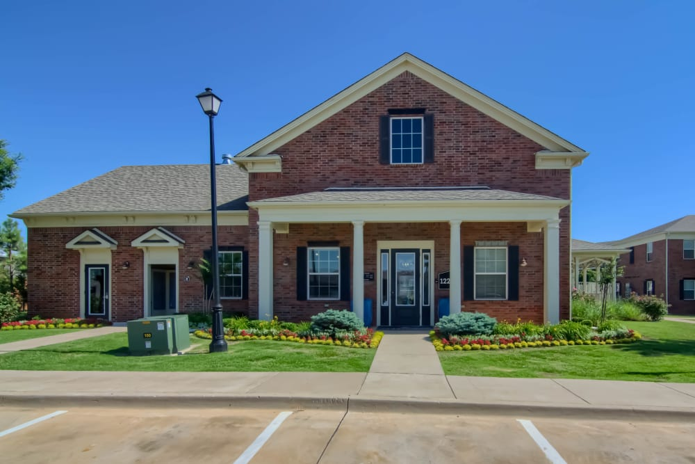 The front office building at Traditions at Westmoore in Oklahoma City, Oklahoma.