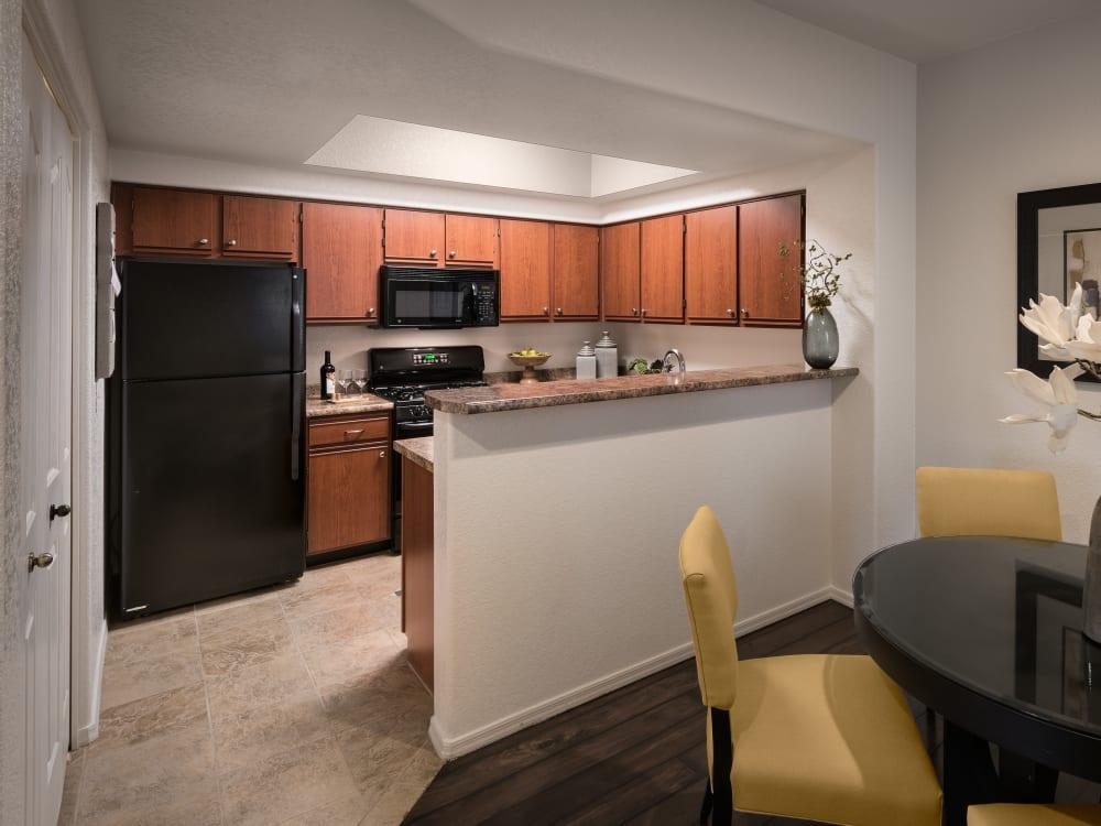 Kitchen at San Prado in Glendale, Arizona