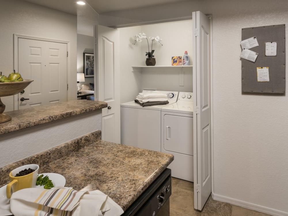 Laundry room at San Prado in Glendale, Arizona