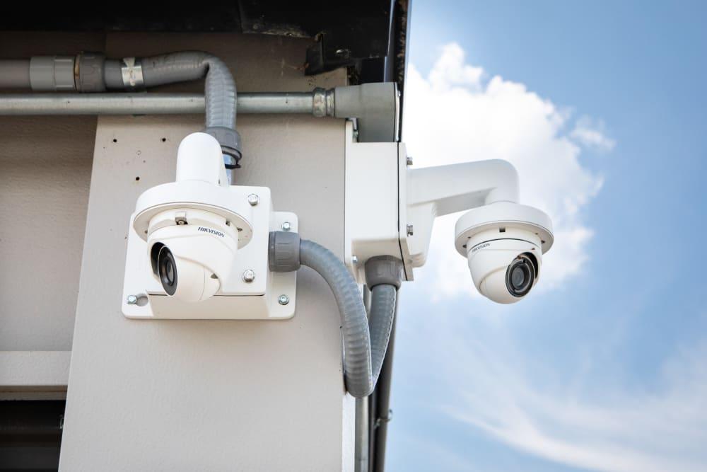 Video surveillance at AAA Self Storage at Browns Summit Rd in Browns Summit, North Carolina
