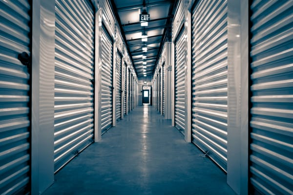 Climate-controlled storage units at My Neighborhood Storage Center in Winter Garden, Florida