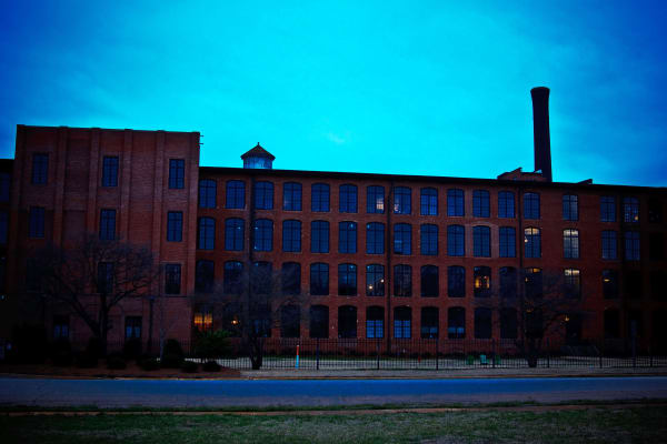 Exterior of The Lofts Of Greenville in Greenville, South Carolina