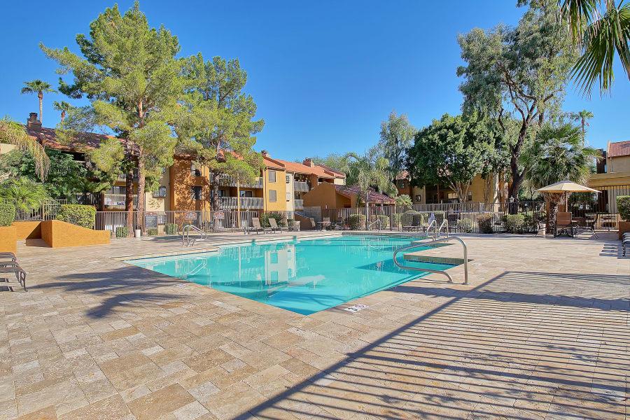Pool at Renaissance Apartment Homes in Phoenix, AZ