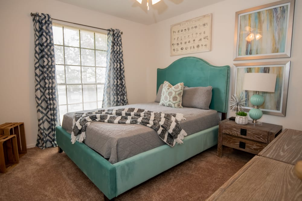 Spacious bedroom at The Trace of Ridgeland in Ridgeland, Mississippi