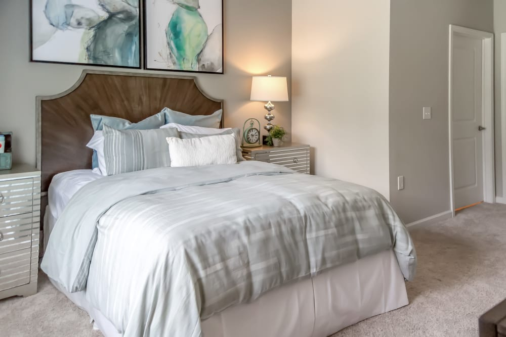 Spacious bedroom at Lullwater at Blair Stone in Tallahassee, Florida