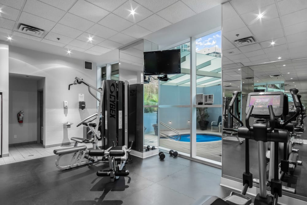 Our Apartments in Vancouver, British Columbia offer a Gym