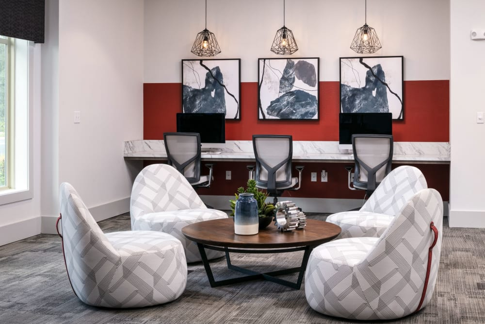 Business center at Integra 289 Exchange in DeBary, Florida