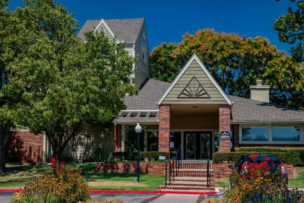 Clubhouse at Summerfield Place Apartments in Oklahoma City, Oklahoma