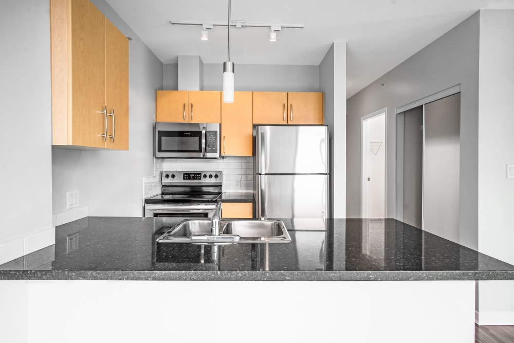 Bayview at Coal Harbour offers a Luxury Kitchen in Vancouver, British Columbia