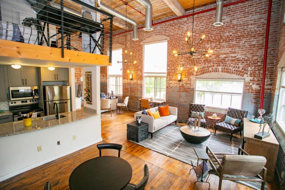 Spacious floor plans at Newnan Lofts Apartment Homes in Newnan, Georgia