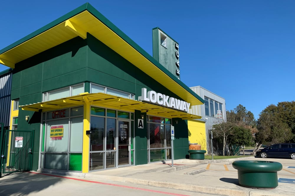 Front Office Exterior at San Antonio, Texas near Lockaway Storage