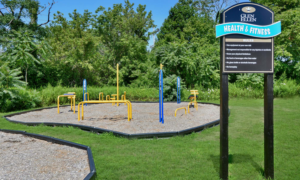 Glen Ellen Apartment Homes offers a nice playground in Long Branch, NJ