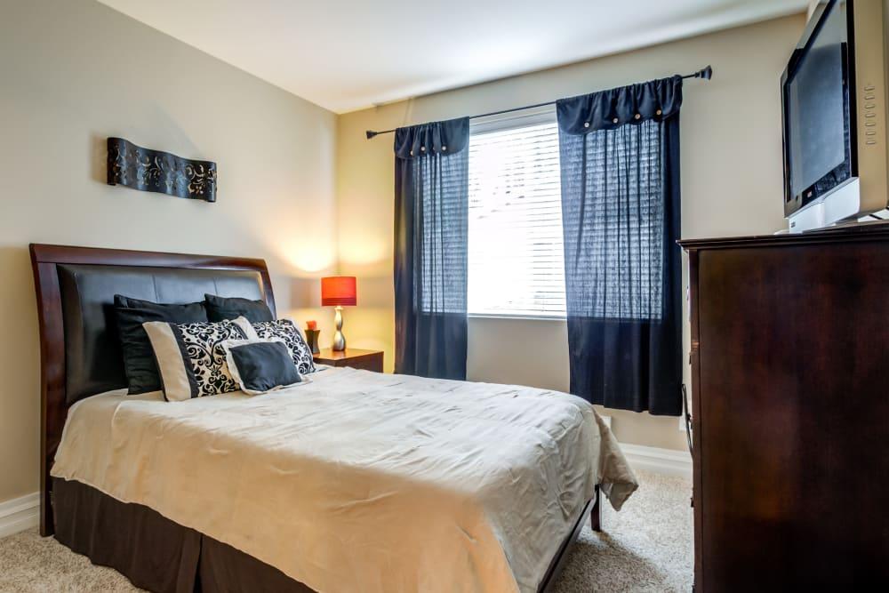 Bedroom at Apartments in Puyallup, Washington