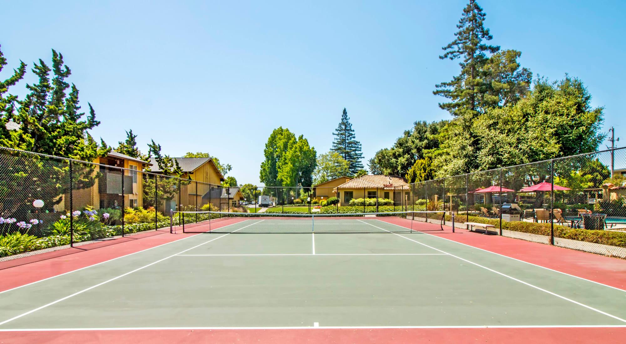 Neighborhood at The Landmark Apartment Homes in Sunnyvale, California