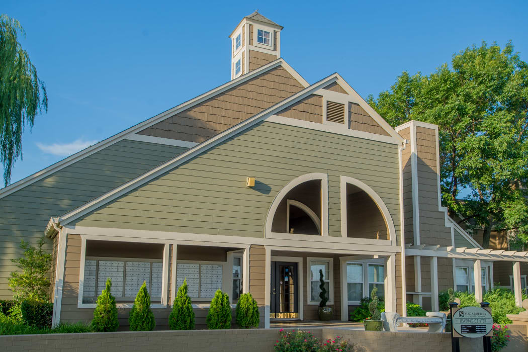 Beautiful clubhouse for residents at Sugarberry Apartments in Tulsa, Oklahoma