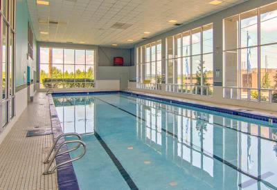 Indoor Swimming Pool at Lakeshore Drive in Cincinnati, Ohio