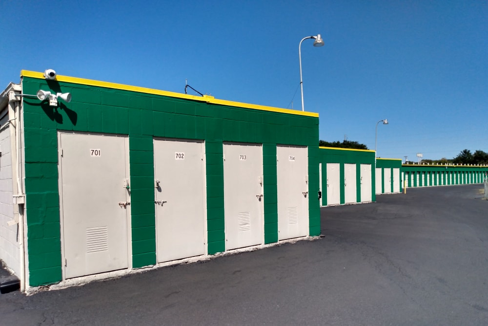 Exterior Units of Lockaway Storage in San Antonio, Texas