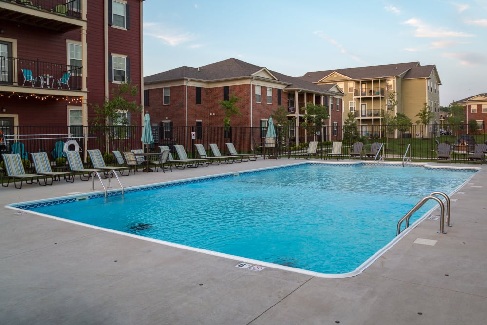 Aeriel View Of Our Pool At Traditions At Mid Rivers