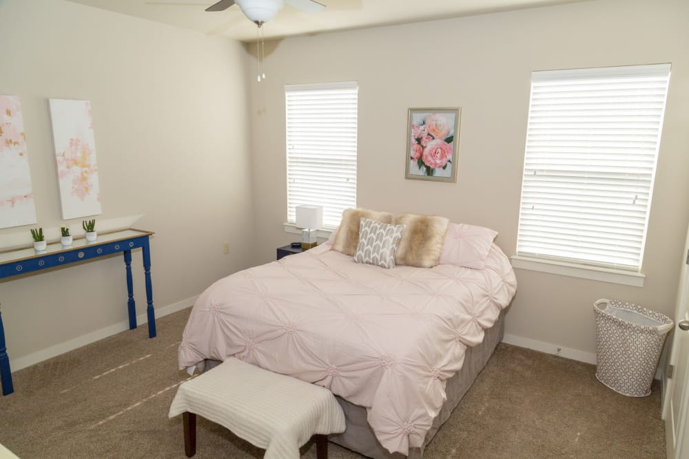 Model Bedroom At Traditions At Mid Rivers