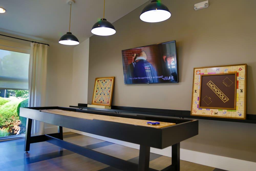 Living room at apartments in Saint Charles, MO
