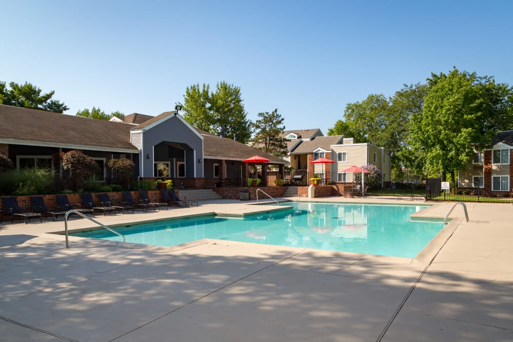 Pool at Sunbrook Apartments in Saint Charles