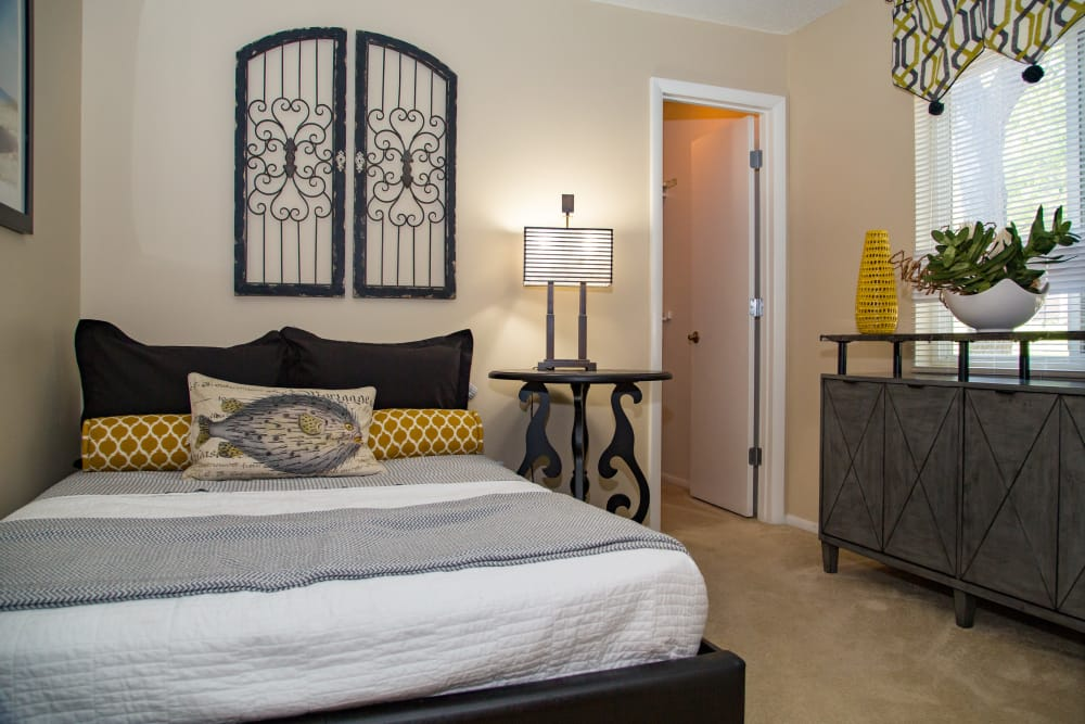 Bedroom at Sunbrook Apartments in Saint Charles