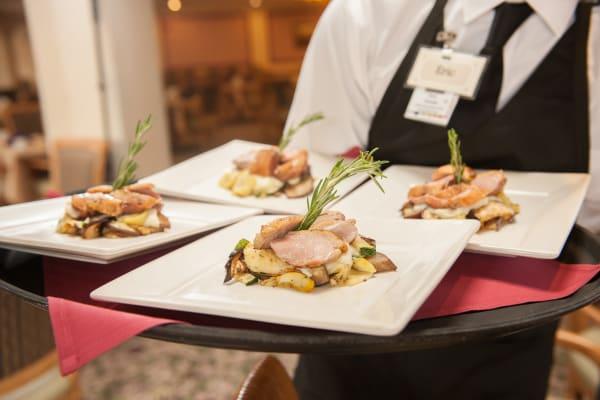 Wonderful dining at Westmont Village in Riverside, California