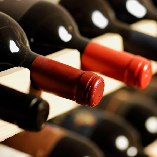 Wine storage at StorQuest Self Storage in Seattle, Washington