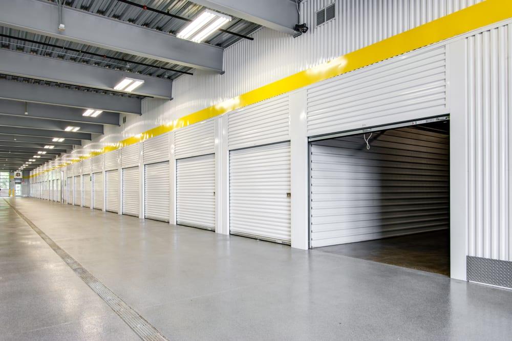 Open indoor unit at Metro Self Storage in Coon Rapids, Minnesota