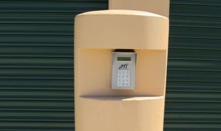 Keypad entry at Acorn Self Storage - Pittsburg in Pittsburg, California