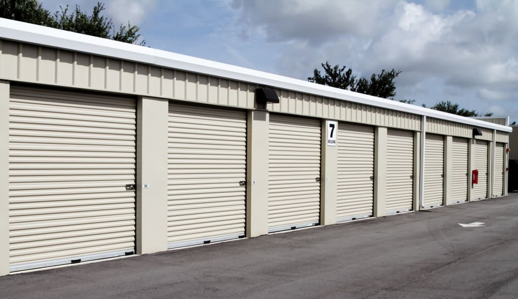 Locked unit at Prime Storage in Latham, New York