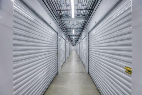 Interior hallway of StorQuest Self Storage in Aurora