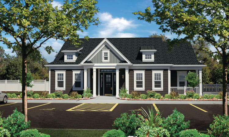 Reserve Pointe Apartments clubhouse in Canandaigua, New York