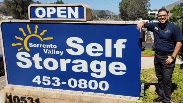 Sorrento Valley Self Storage Manager: Jose Cruz