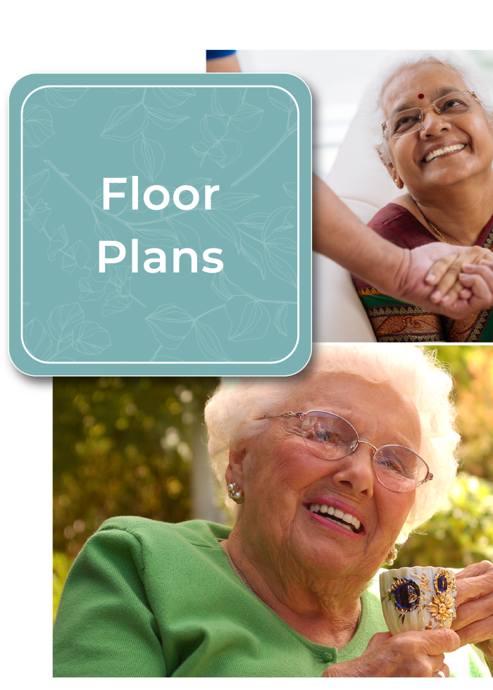 Learn more about floor plans at Madonna Gardens in Salinas, California.