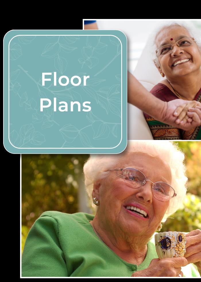 Learn more about floor plans at Carefield Pleasanton in Pleasanton, California.