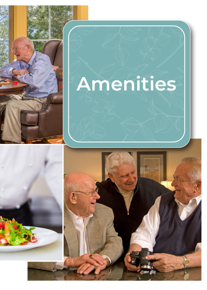 Learn more about amenities at Carefield Pleasanton in Pleasanton, California.