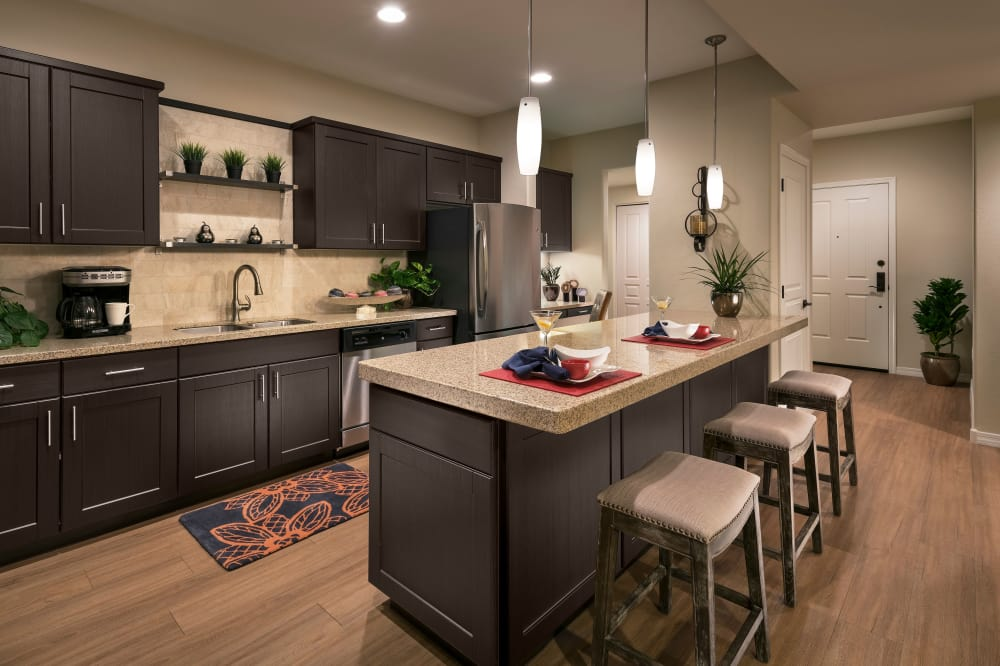View the floor plans at San Milan in Phoenix, Arizona