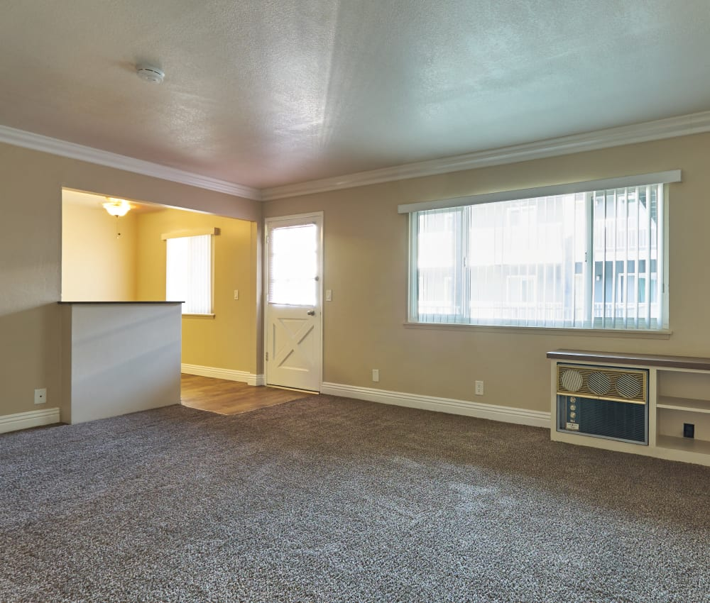Spacious, open floor plans at Palms at the Pruneyard in Campbell, California